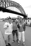 151014, Boyband 'CJR', Sydney Harbour